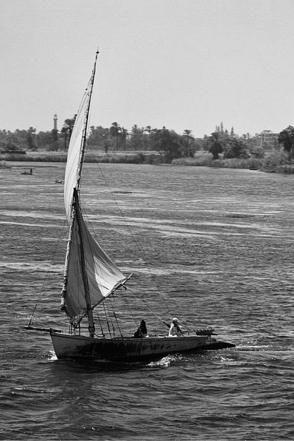 La felouque sur le Nil