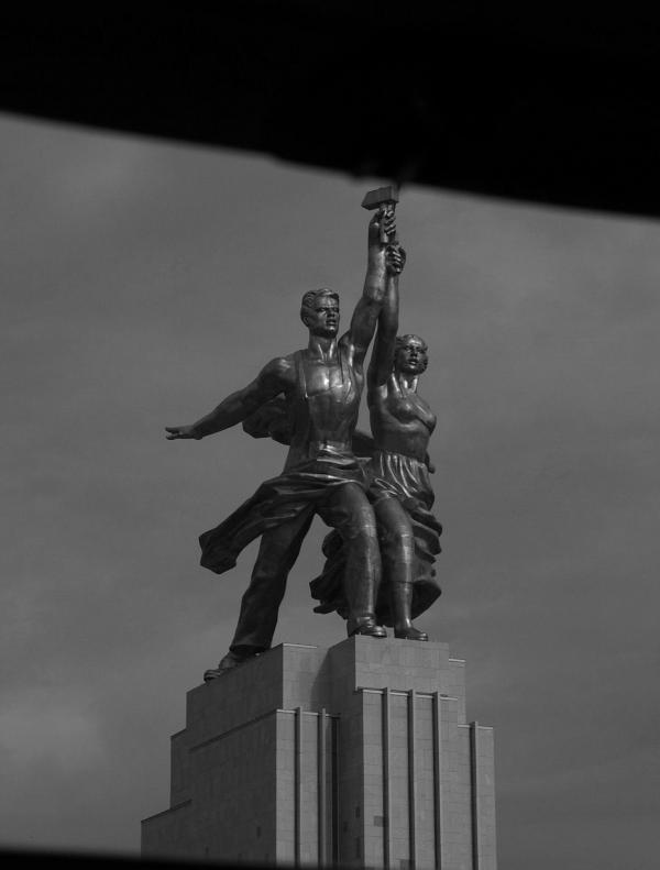 L'ouvrier et la kolkhozienne